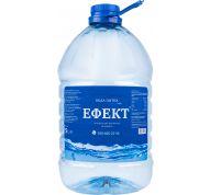 """Вода ТМ """"ЕФЕКТ"""" артезіанська оброблена негазована 2*5л"""